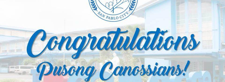 Congratulations Pusong Canossians!