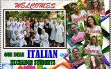 Canossa College Welcomes Italian Exchange Students