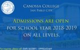 Admissions Going On