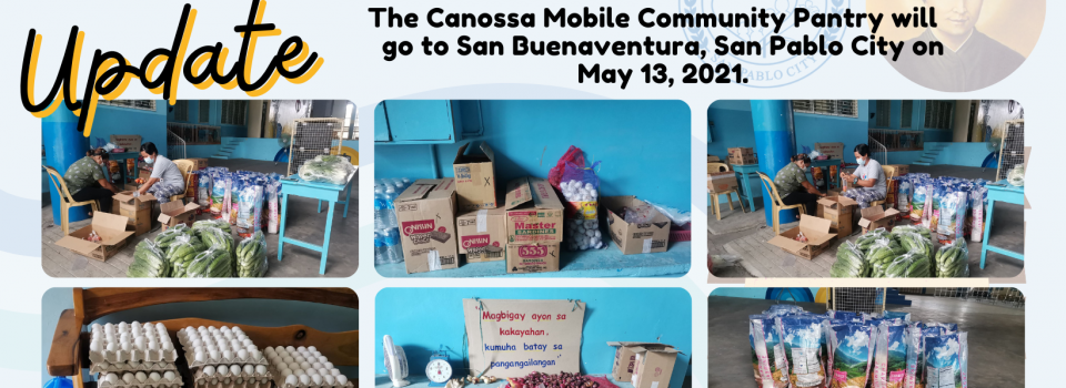 Care to Share, Share to Care: Canossa Mobile Community Pantry