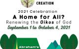 Season of Creation 2021 Celebration